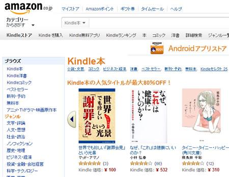 なぜ電子書籍出版はアマゾンを利用したほうがいいのか